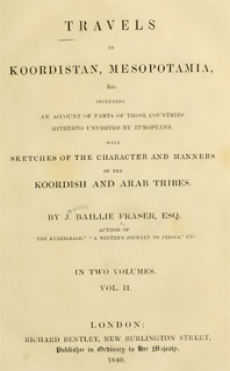 Travels in Koordistan, Mesopotamia II
