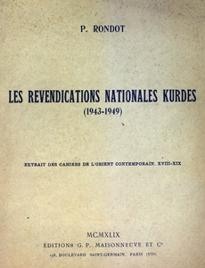 Les revendications nationales Kurdes (1943-1949)