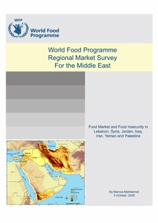 World Food Programme Regional Market Survey for the Middle East