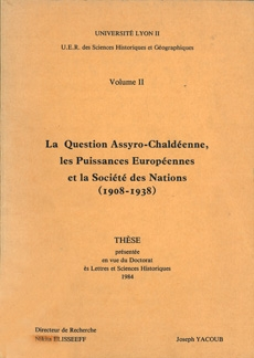 La Question Assyro-Chaldéenne - II