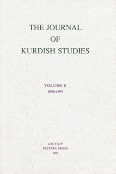 The Journal of Kurdish Studies - II