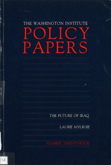 The Washington institute Policy Papers, n° 24: The Future of Iraq