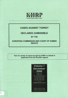 Cases against Turkey Declared Admissible