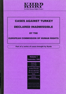 Cases against Turkey Declared Inadmissible