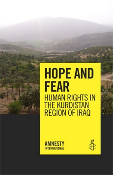 Hope and Fear: Human rights in the Kurdistan Region of Iraq